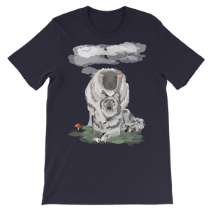 """REVENGE OF THE SHEEP"" - Men's Short Sleeve T-Shirt"
