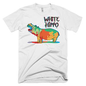 Painted Hippo- T-Shirt