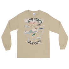 """Long Beach Surf Club"" - Long Sleeve T-Shirt"