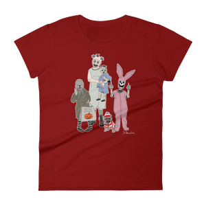 """Trick's Bitches""- Women's Short Sleeve T-Shirt"