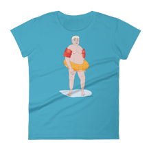 """TRUMP CAN'T SWIM"" -Women's Short Sleeve T-Shirt"