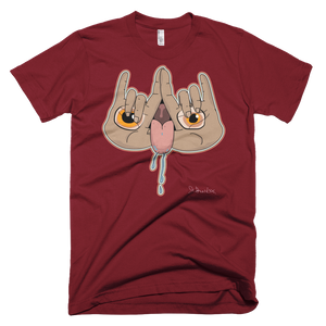 """🤘👅👁️"" - Short Sleeve T-Shirt"