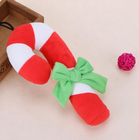 Image of Christmas Crutch Toy with Sound
