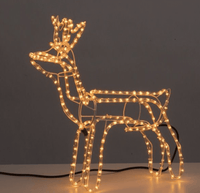 Xmas Reindeer with lights