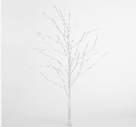 Image of Snow Covered LED Xmas Tree