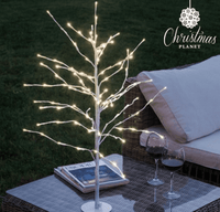 Snow Covered LED Xmas Tree