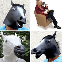 Horse Head Mask (3 colors)