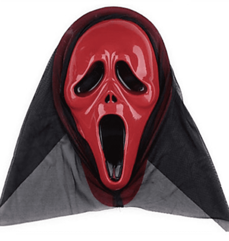 Image of Halloween Mask Ghost Scary Scream