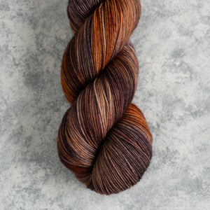 Fall Whispers- Fingering Weight - Sock