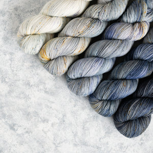 Cat on a Hot Tin Roof - 5 Skein Gradient Set - Sock 100g's