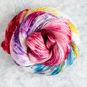 Dances with Rainbows - Fingering Weight - Sock