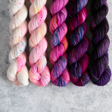 Load image into Gallery viewer, Happy Dance - 5 Skein Gradient Set - Twisty 20g Mini
