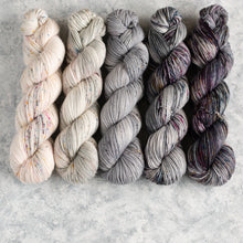 Load image into Gallery viewer, Kisses on the Wind - 5 Skein Gradient Set - DK 100g's