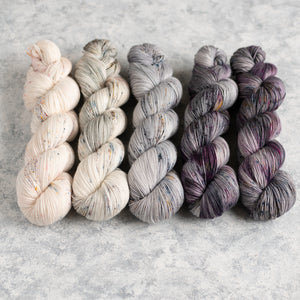 Kisses on the Wind - 5 Skein Gradient Set - Sock 100g's
