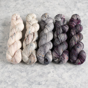 Kisses on the Wind - 5 Skein Gradient Set - Twisty 100g's