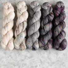 Load image into Gallery viewer, Kisses on the Wind - 5 Skein Gradient Set - Twisty 100g's