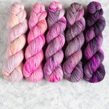 Load image into Gallery viewer, Minx - 5 Skein Gradient Set - DK 100g's