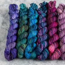 Load image into Gallery viewer, Pixie Uniques - 10 Skein Gradient Set - DK 20g Mini