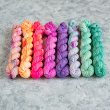 Load image into Gallery viewer, Summer Breeze - 8 Skein Set - Sock 20g Mini