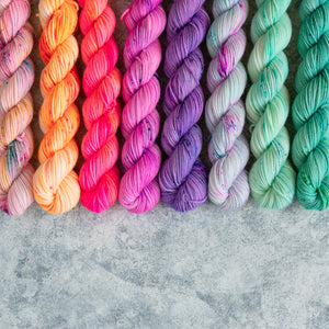 Summer Breeze - 8 Skein Set - Sock 20g Mini