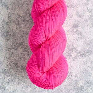 Vintage Lights Pink - Fingering Weight - Sock