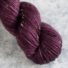 Load image into Gallery viewer, Plum - Aran Weight - Donegal Nep