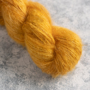 Gold - Lace Weight - Suri Silk Cloud
