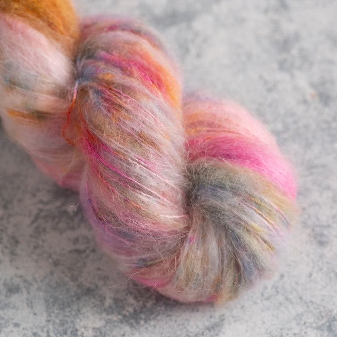 Happy Dance - Lace Weight - Suri Silk Cloud