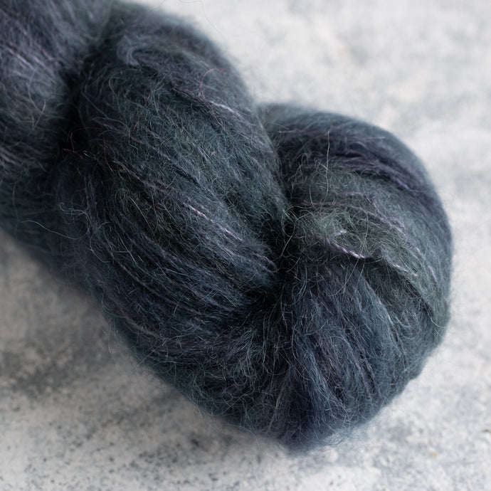 Granite - Lace Weight - Suri Silk Cloud