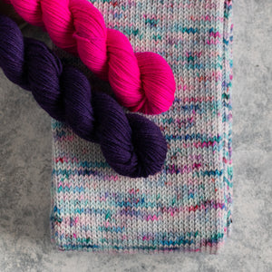 Festive Cheer - Knitted Sock Tube