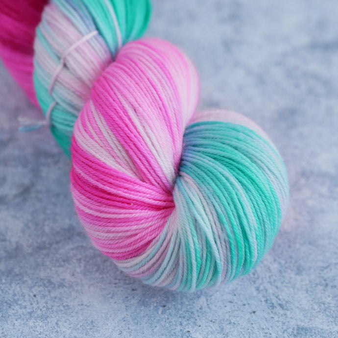 Candy Cane Lane - Fingering Weight - Sparkle 50g