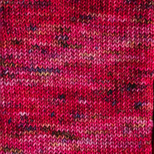 Load image into Gallery viewer, Pomegranate Smash - Sparkle - Knitted Sock Tube 50g