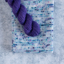 Load image into Gallery viewer, Flurry - Sparkle - Knitted Sock Tube 50g