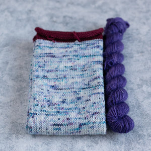 Flurry - Sparkle - Knitted Sock Tube 50g