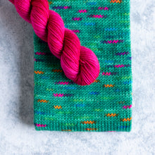 Load image into Gallery viewer, Tree Of Lights - Knitted Sock Tube 50g