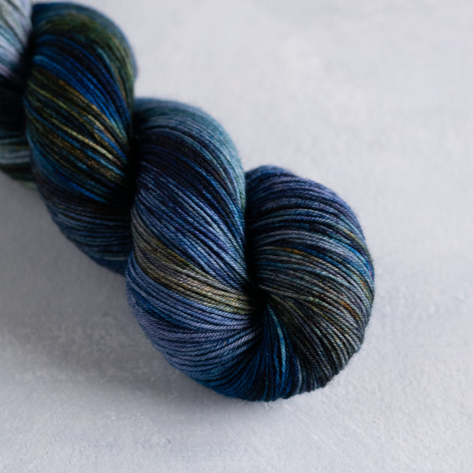 Rich Midnight Sea - Fingering Weight - Sock