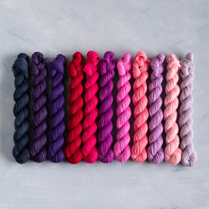 Mix n Match - Mini Skein 20g - Fingering Weight