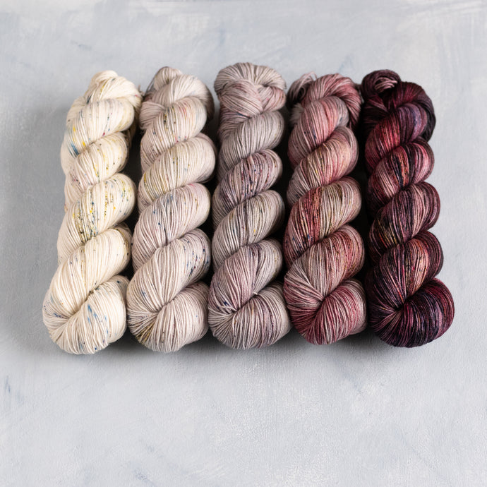 Picotee - 5 Skein Gradient Set - Sock 100g's