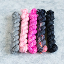 Load image into Gallery viewer, Rapscallion - 5 Skein Gradient Set - DK 20g Mini