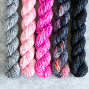Rapscallion - 5 Skein Gradient Set - DK 20g Mini