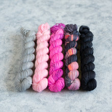 Load image into Gallery viewer, Rapscallion - 5 Skein Gradient Set - Sock 20g Mini