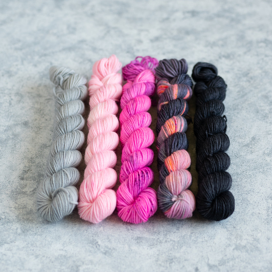 Rapscallion - 5 Skein Gradient Set - Sock 20g Mini