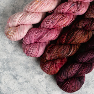 Rosa - 4 Skein Gradient Set - Sock 100g's