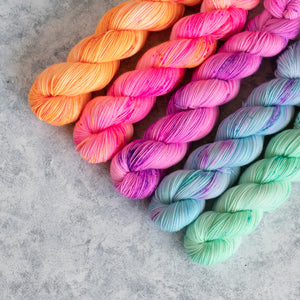 Summer Breeze - 5 Skein Gradient Set - Twisty 100g's