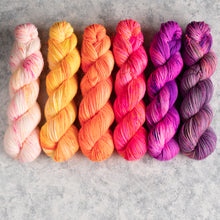 Load image into Gallery viewer, Ziggy - 6 Skein Gradient Set - DK 100g's