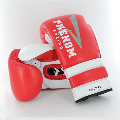 Elite SG-200 Professional Sparring Gloves (Red/White)