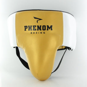 Elite GP-200 Professional Groin Guard (Gold/White)
