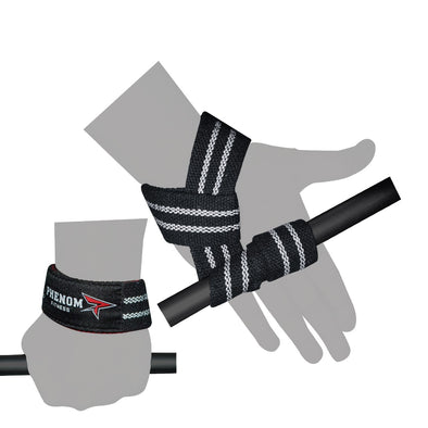 PHENOM WS-1 Weightlifting Wrist Straps