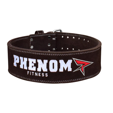 PHENOM PB-1 Leather Powerlifting Belt