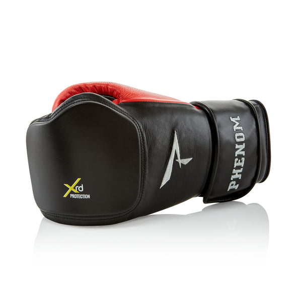 XRT-220S Bag Gloves - Black/Red - Punch Surface